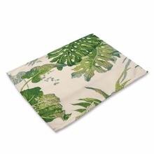 Plants Printed Table Mats