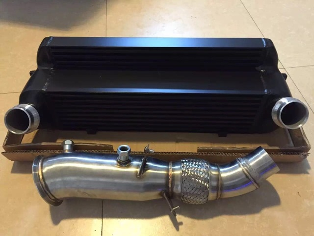 stock location intercooler for bmw f20 f30