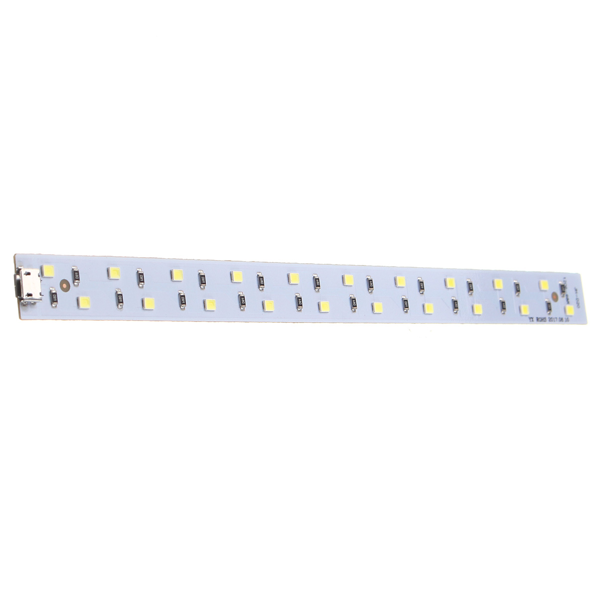CLAITE LED Flexible Strip 20CM Mini USB White Light 5V USB Lamp Bar Studio Cabinet String Decoration Night Light