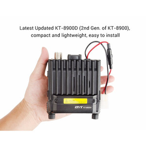 Image 3 - 100% Original QYT KT 8900D Dual Band Quad Vehicle Car Radio 136 174/400 480MHz Mobile Radio Transceiver Vehicle Muted
