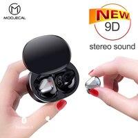Tws wireless headphones 9D stereo bluetooth earphone audifonos para celular sport kulaklık in ear headset for xiaomi Pk i12 tws