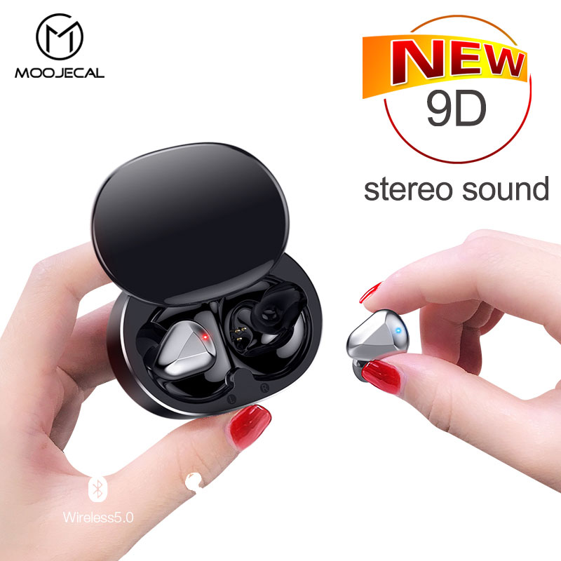 Tws Wireless Headphones 9D Stereo Bluetooth Earphone For Xiaomi Auriculares Bluetooth Inalambric Sport Kulaklık In-ear Headset