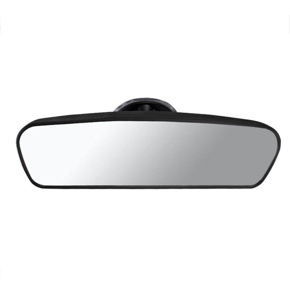 New Universal Car Rear Mirror Wide-angle Rearview Mirror Auto Interior Rear View Mirror With PVC Suction Cup Car Accessories car clip on rear view mirror convex mirror driving safety universal wide angle rear view mirror auto car interior mirrors