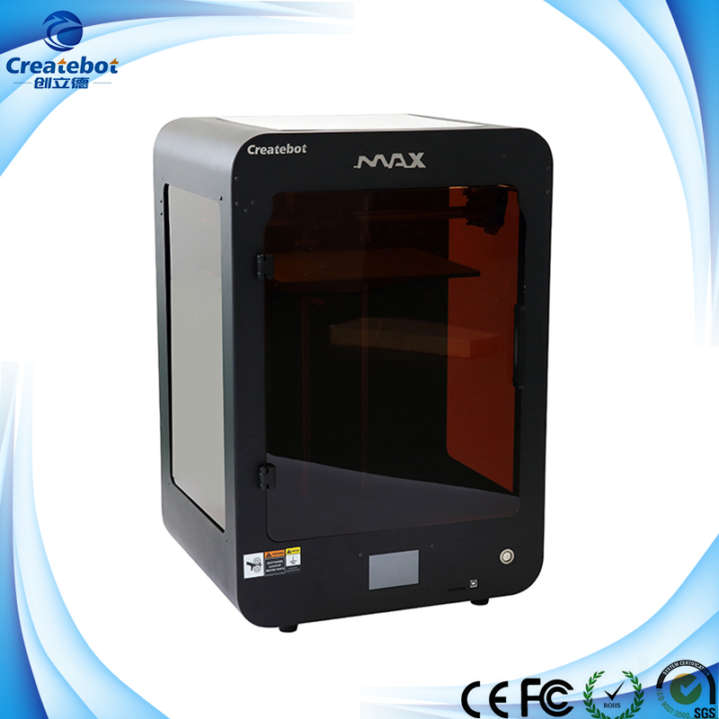 Black Max 3D Printer With 0 02 0 25mm High Precision