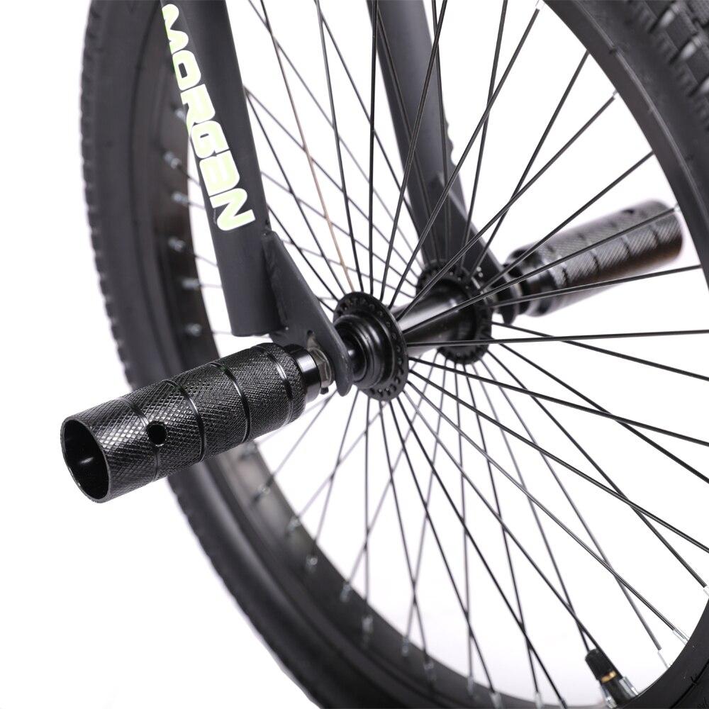HILAND 20 ''BMX vélo Freestyle acier vélo vélo Double étrier frein spectacle vélo cascadeur vélo acrobatique - 6