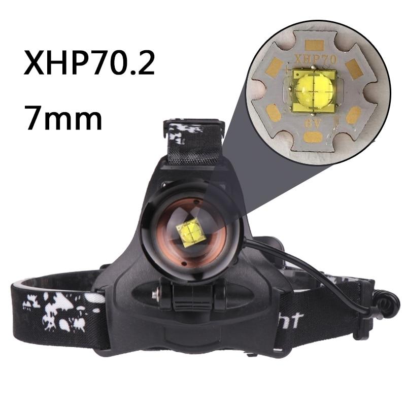 Litwod 2806 Z30 New arrive XHP70.2 32W 3200lm powerful Led headlamp Headlight zoom head lamp light flashlight torch Lantern