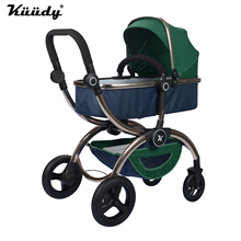 Kuudy Luxury Personalized High Vision Baby font b Stroller b font High Qulity Can Sit and