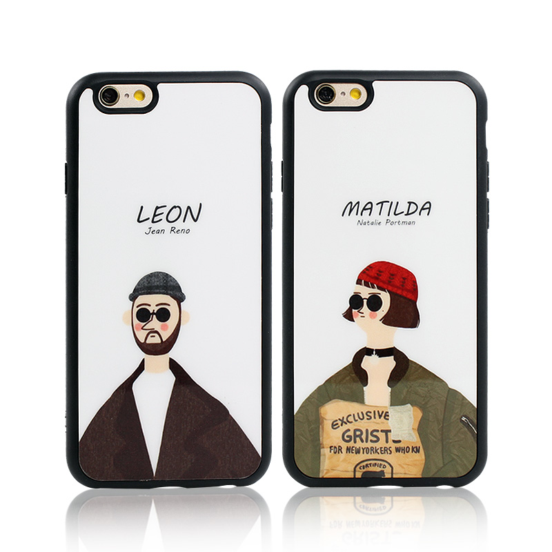 Hot Movie Killer Leon Mathilda Mirror Surface Silicon Case For Apple iPhone 6 6s 6 Plus SE 5 5s Back Cover protective bag Fundas