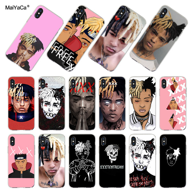 MaiYaCa For <font><b>iphone</b></font> <font><b>7</b></font> <font><b>Case</b></font> <font><b>Xxxtentacion</b></font> fashion Top Detailed Popular Phone <font><b>case</b></font> for <font><b>iPhone</b></font> <font><b>7</b></font> 6 X 8 6s Plus 5 XS XR XSMAX <font><b>Case</b></font> image