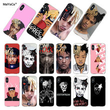MaiYaCa Voor iphone 7 Case Xxxtentacion fashion Top Gedetailleerde Populaire Telefoon case voor iphone 7 6X8 6 s Plus 5 XS XR XSMAX Case(China)