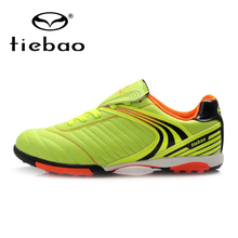 цена на TIEBAO Outdoor Football Boots Men's Ankle Soccer Shoes Zapatillas Hombre TF Turf Football Shoes Breathable Sneakers Men 3 Colors