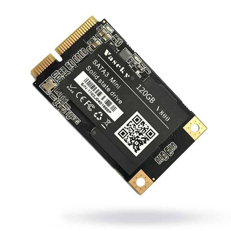 Vaseky Wiskey 120g 1.8 di pollice Mini MSATA SSD A Stato Solido Hard Disk SSD Notebook MSATA Hard Disk A Stato Solido Gioco accelerazione