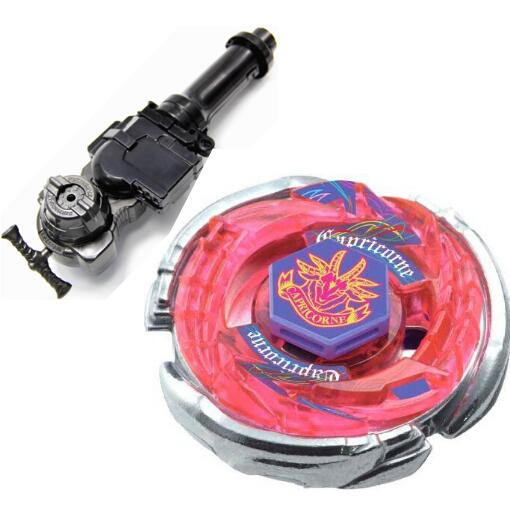 Best Birthday Gift 1Pcs Retail 4D Beyblade Storm Capricorne Metal Fusion BB50 Christmas Gifts Toys Beyblade +L-R Starter Launche