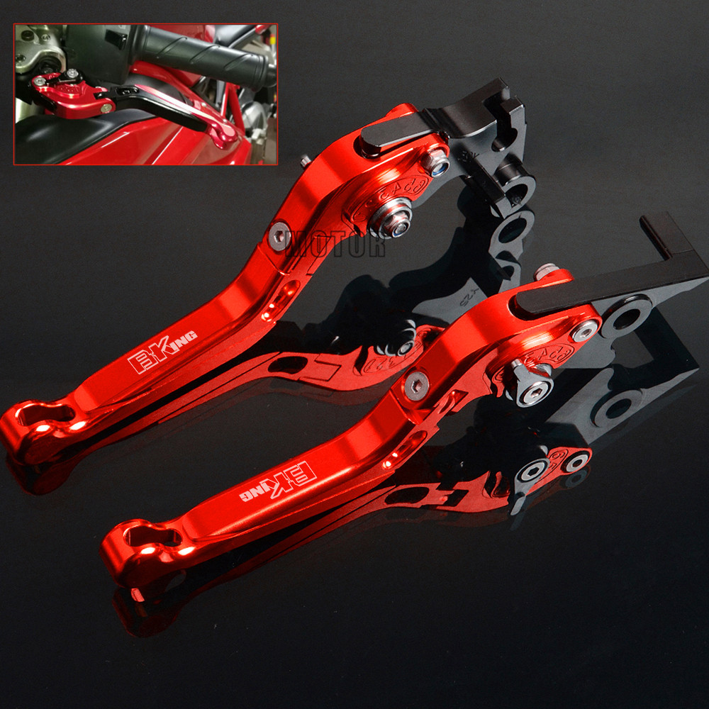 CNC Adjustable Motorcycle Brake Clutch Levers For SUZUKI B KING BKING B-KING 2008 2009 2010 2011 Accessories Folding Brake LeverCNC Adjustable Motorcycle Brake Clutch Levers For SUZUKI B KING BKING B-KING 2008 2009 2010 2011 Accessories Folding Brake Lever