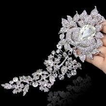 Tuliper цветок бутон свадебная брошь шпильки подружек невесты Броши с австрийскими кристаллами для женщин вечерние ювелирные изделия Подарок на годовщину
