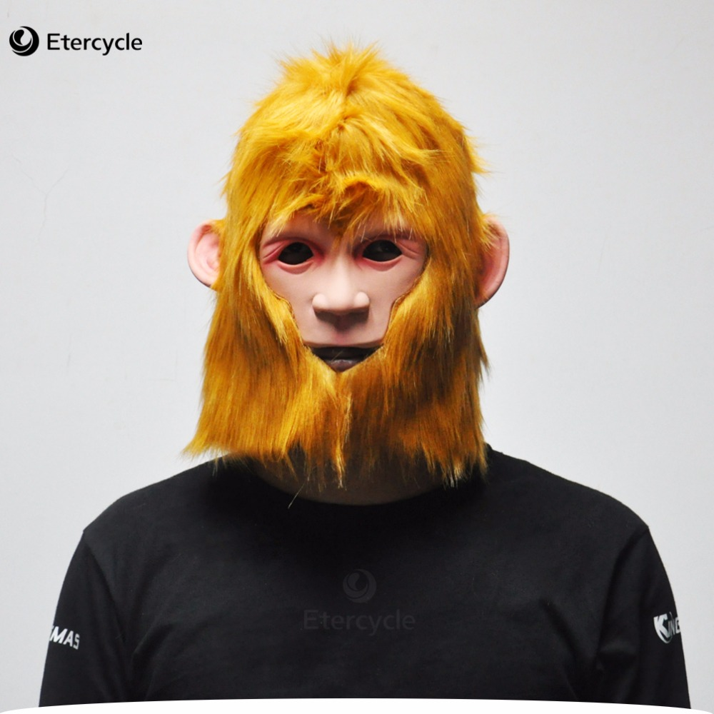 SunWukong מסכה ליל כל הקדושים קוף המלך - חגים ומסיבות