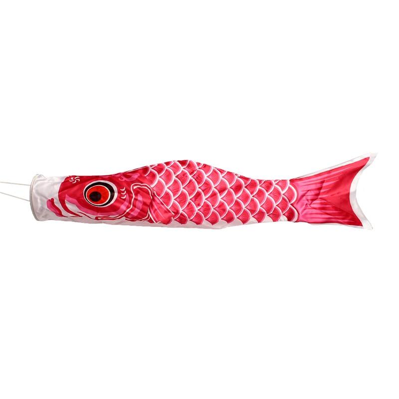 3pcs 40cm Koi Nobori Carp Wind Sock Koinobori Fish Kite Flag Hanging Decor