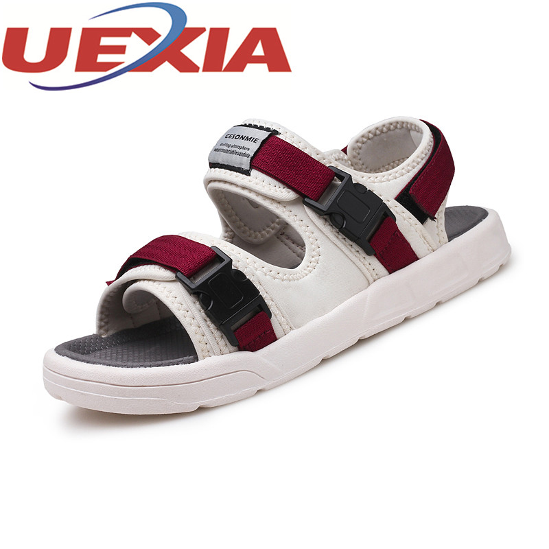 Summer Fashion High Quality Men Beach Sandals Outdoor Casual Breathable Slippers For Men Lightweight Water Shoes Sandalias Homme