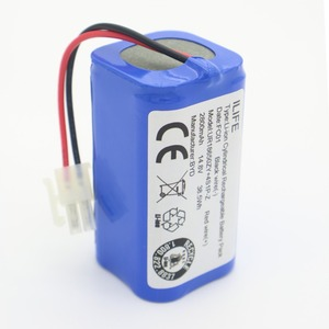 Image 3 - Hoge Kwaliteit Oplaadbare Ilife Ecovacs Batterij 14.8V 2800Mah Robotic Cleaner Accessoires Onderdelen Voor Chuwi Ilife V7s A6 V7s pro