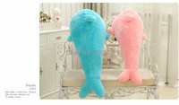 80cm lovely Dolphin doll plush Toy, Christmas Gift w9498