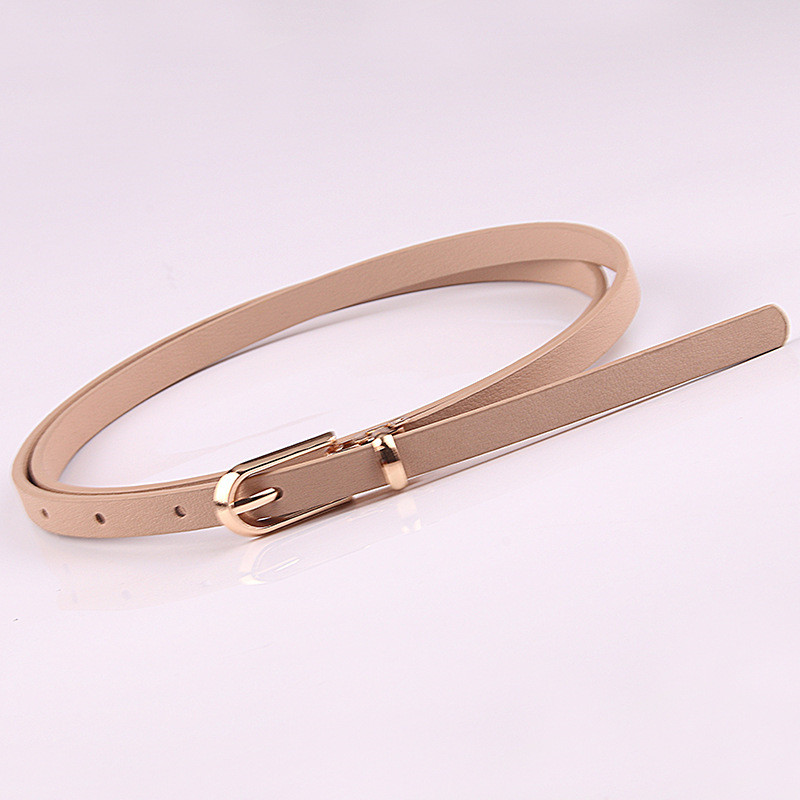 HTB1WZYxacnrK1RjSspkq6yuvXXaY - Women Faux Leather Belts Candy Color Thin Skinny Waistband Adjustable Belt Women Dress Strap cinturon mujer cinto feminino