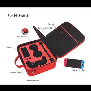 Image 5 - Nouveau sac de rangement pour interrupteur étui de protection à bille pour Nintendo Switch contrôleur couleur rouge