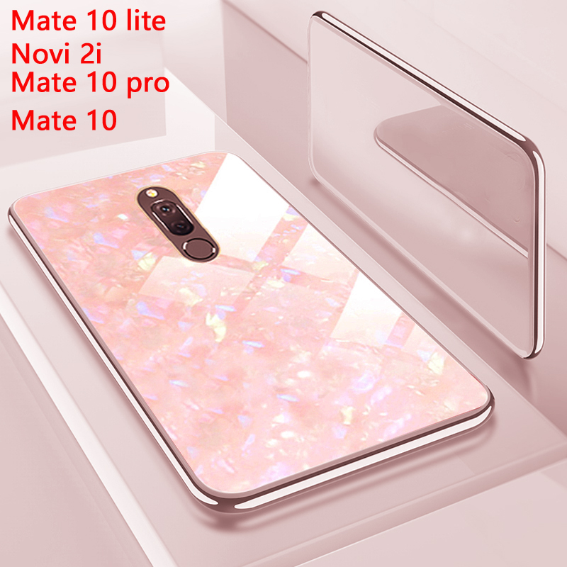2 IN 1 Coque,Cover,Case,For Huawei Mate 10 Lite Mate10 Pro = Nova 2I Pc + Silicone Silicon On Phone Back Luxury Hard 360