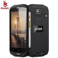 Original AGM A8 SE IP68 Waterproof Mobile Phone 5.0HD 4GB RAM 64GB ROM Qualcomm MSM8916 Quad Core 13.0MP 4050mAh NFC OTG