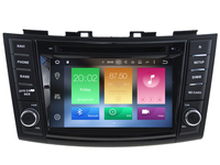 Android CAR Audio DVD Player FOR SUZUKI SWIFT 2011 2015 Gps Multimedia Head Device Unit Receiver