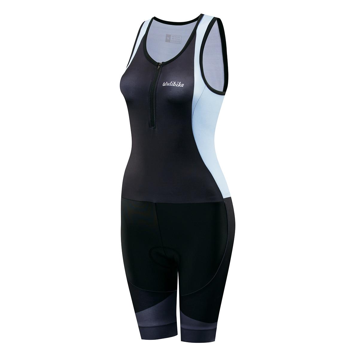 Femmes de Manches Courtes Triathlon Course Costume Trifonction Vélo Skinsuit À Séchage Rapide Respirant pour Piscine Courir Formation