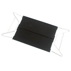 Image 2 - חיצוני מתקפל שולחן עמיד אלומיניום צלחת שולחן נייד קל משקל מיני ריהוט עבור ברביקיו קמפינג פיקניק מסלולי טיולים