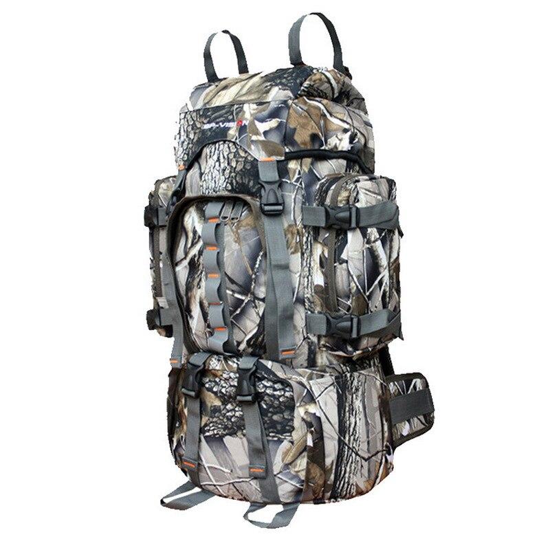 60L Armée homme femme équipement tactique militaire pour extérieur Camo Sac À Dos Camping Randonnée Fusil Sac sacs à dos de trekking sacs d'escalade