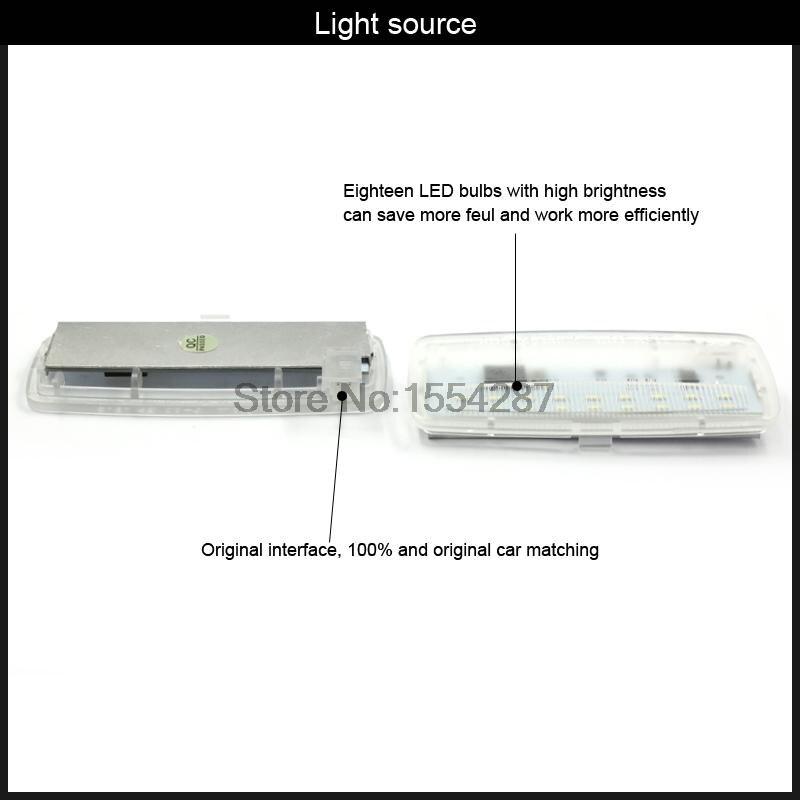 2 шт. ошибок светодиодный SMD косметическое зеркало козырек свет для Bmw E93 E93LCI E88 Rolls-Royce RR2 Drophead RR3 купе