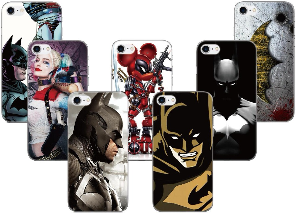 Harley Quinn Batman Cover For iphone X 4 4S 5 5S SE 5C 6 6S 7 8 Plus For iPod Touch 5 6 Hard Phone Case Capa Coque Shell Fundas