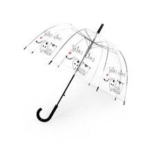 SAFEBET детский зонтик милый Единорог Зонты Мультфильм прозрачный зонтик Детский полуавтоматический Apollo Зонты дропшиппинг