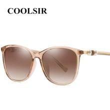 COOLSIR Vintage Pearl Sunglasses Women Cat Luxury Brand Designer Retro Ladies Polarized Black Eyewear Female Shades
