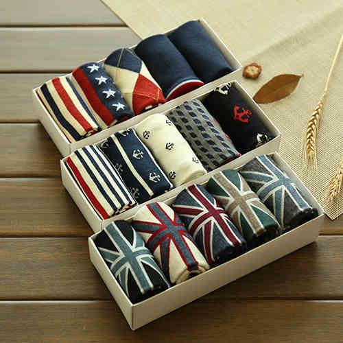 2019 New Hot Sale Cotton Stripe Harajuku Hip Hop Casual Sox Long Skateboard Socks Men's Street Boat Sock For Male 3WZ017
