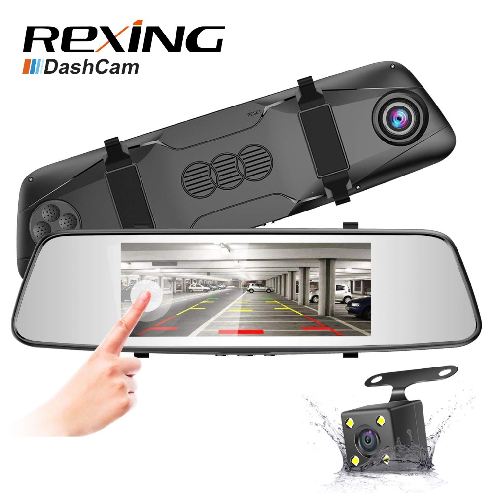 Rexing D700, FHD 1080P With Rear Camera,7 inches Touch Screen, Car Dvr Dash Cam,G-sensor, Cycle Recording, Rearview MirrorRexing D700, FHD 1080P With Rear Camera,7 inches Touch Screen, Car Dvr Dash Cam,G-sensor, Cycle Recording, Rearview Mirror