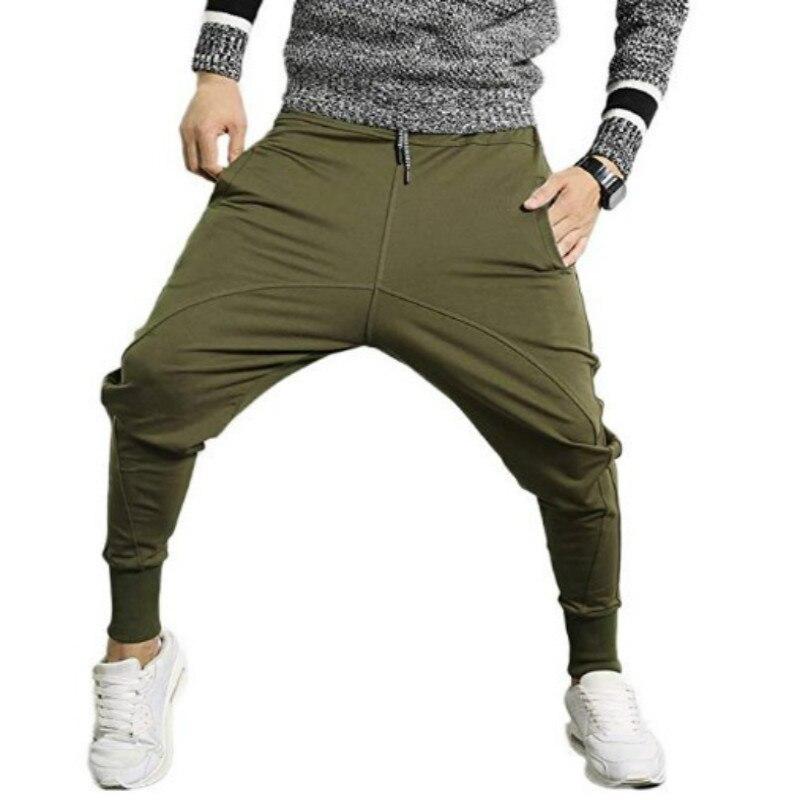2019 Men Pants Mens Hip Hop Harem Joggers Trousers Casual Camo Mens Sweatpants Workout Pant Male Aesthetic Pants Drop Shipping