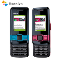 7100S 100% original Unlocked Slide Nokia 7100 Supernova Mobile phone 7100S cell phone with Bluetooth refurbished