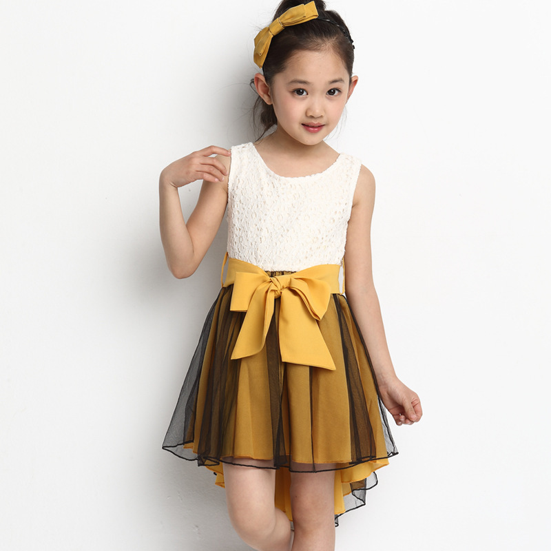 Girl Dress Princess Clothing Kids Clothes Vestidos Summer Style With