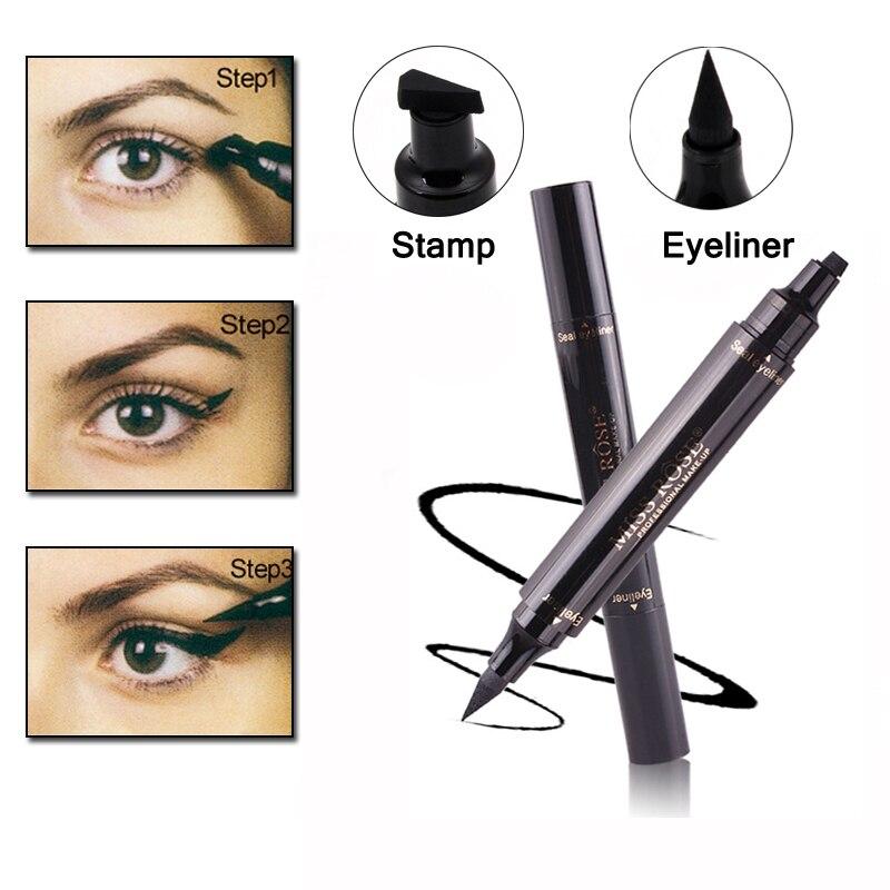 Schönheit & Gesundheit Niedrigerer Preis Mit Wasserdicht Flüssigkeit Schnell Trocknend Werkzeug Make-up Eye Natürliche Lange Eyeliner Anhaltende