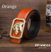 2015 New Design gg Men 's leather belt First layer cowhide leather high quality causal & fashion Box Buckle Belt NO:KT1403145(China (Mainland))