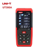 UNIT UT395A Professional Laser Distance Meters 50m Rangefinder USB Connector Universal Electron Level Ruler
