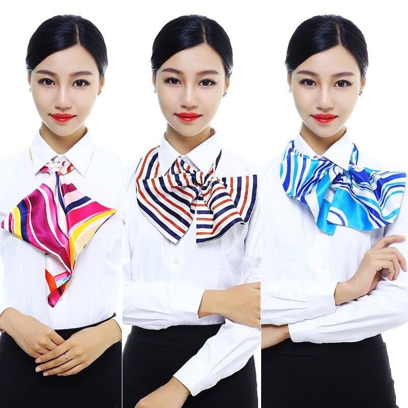 Corbata Frauen Zubehör Krawatte Uniform Beruf Platz Koreanische Stewardess Bank Gefälschte Kragen Hemd Schmetterlinge Kraagje Nissen Dames
