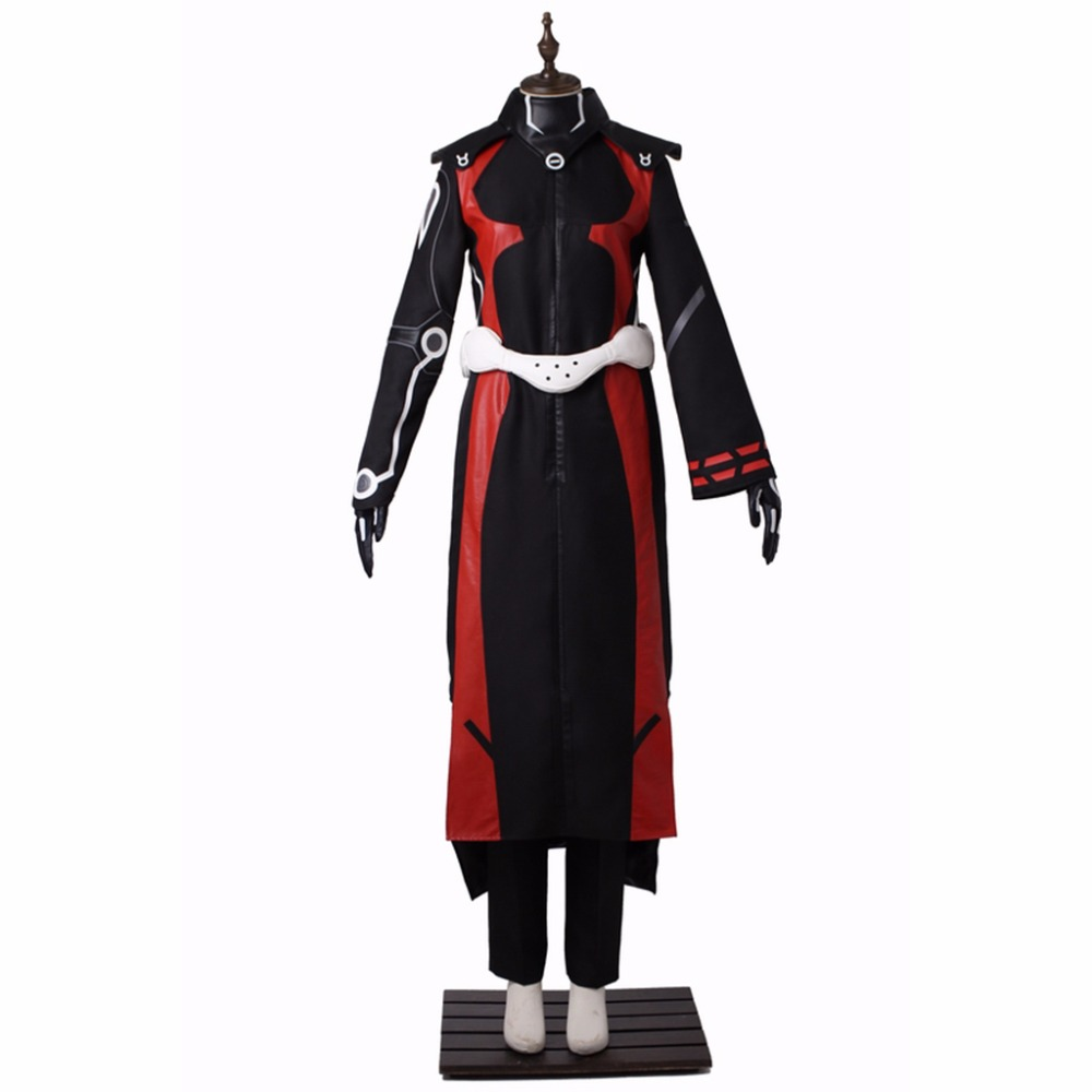Anime Cartoon Twin Star Exorcists Cosplay Costume Enmadou rokuro Adult Fancy Party Full Set Costume L0516