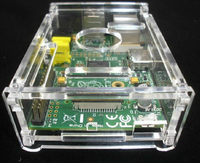 A52 Raspberry Raspberry Pi Shell Transparent Box To Send The Perfect Size D043