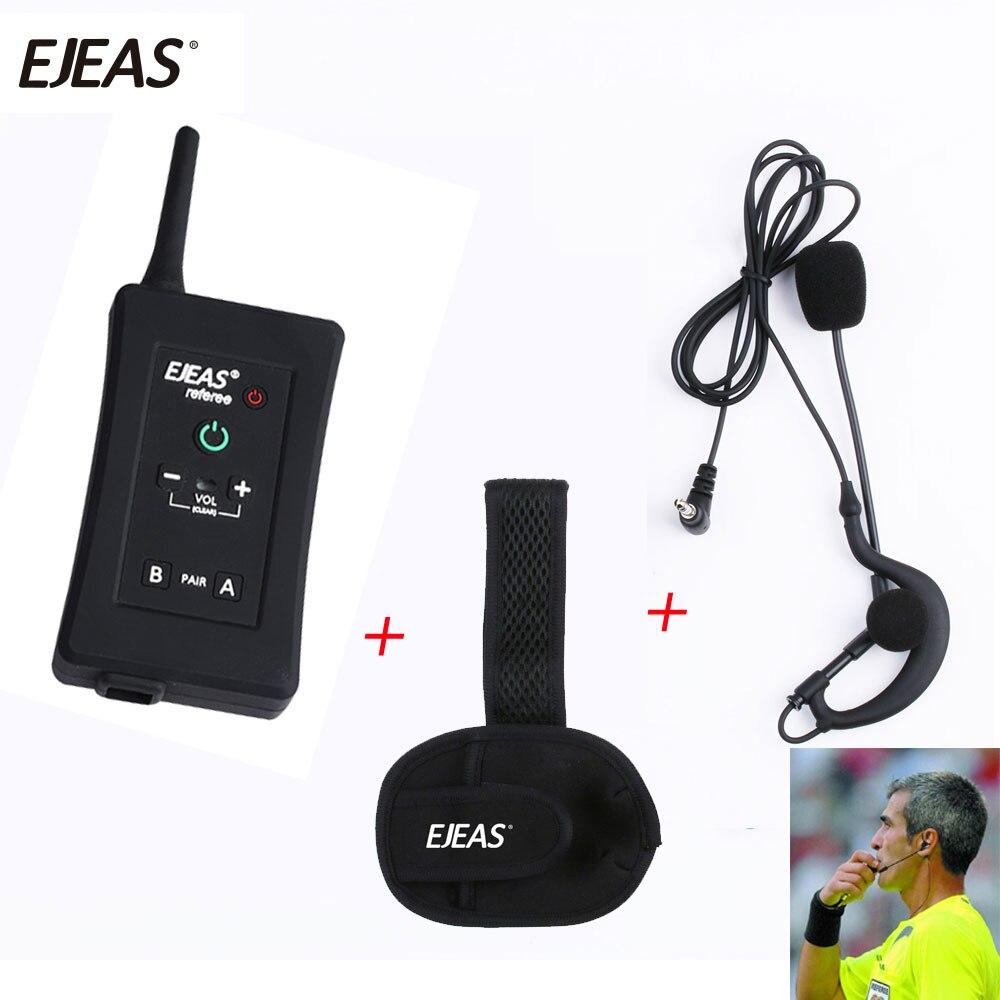 Vnetphone FBIM BT Interphone 1200 M sans fil Bluetooth Interphone Duplex talkie-walkie pour juges directeurs arbitre casque