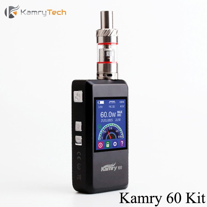 Electronic Cigarette E Hookah Kamry 60 Vape Box Mod Kit 7-60W Vaporizer For Vapor Storm EC 1 Atomizer E Cigarette Kit X1060