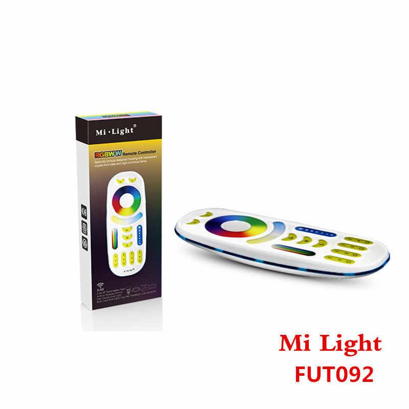 DC12-24V Mi lumière 2.4G 4 zones RF sans fil RGB RGBW LED télécommande FUT038 télécommande gradateur pour RGBW LED lampe à bande